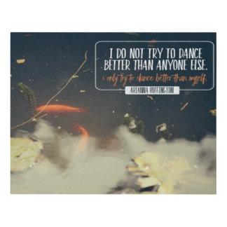 Dance Better Than Myself Panel Wall Art