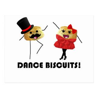 Dance Biscuits!!! Postcard
