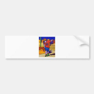 Dance Boy by Piliero Bumper Sticker