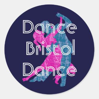 Dance Bristol Dance Classic Round Sticker