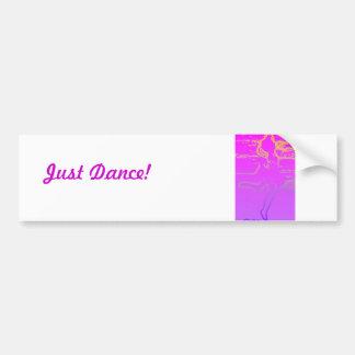 Dance Car Bumper Sticker