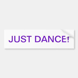 Dance bumper Sticker Car Bumper Sticker