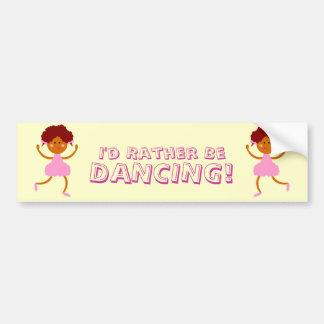 Dance! Car Bumper Sticker