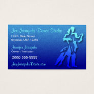 Dance Business Card at Zazzle