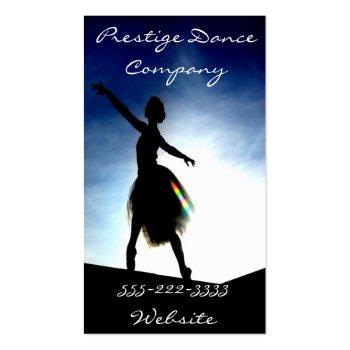 dance profilecard
