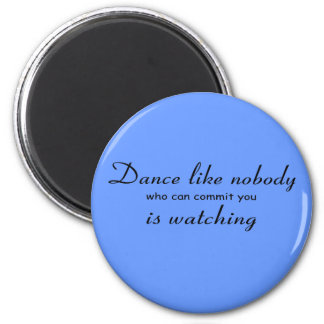 Dance Button Magnet