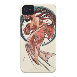 Dance by Alfons Mucha 1898 iPhone 4 Case-Mate Case