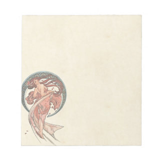 Dance by Alfons Mucha 1898 Notepad
