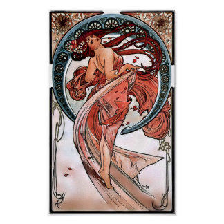 Dance by Alfons Mucha 1898 Poster