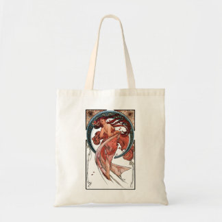 Dance by Alfons Mucha 1898 Tote Bag
