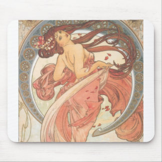 Dance by Mucha Mouse Pad