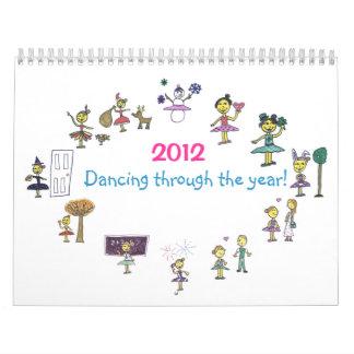 Dance Calendar 2012