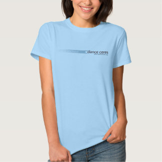 dance ceres fitted tee shirt