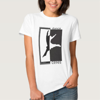 dance ceres front gj/bw tee shirt