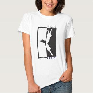 dance ceres reverse grand jete BW T-shirt