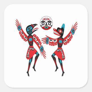 DANCE CERMEONY SQUARE STICKER
