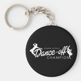 Dance Champion Keychain