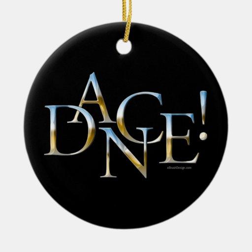 Dance! (Chrome) Christmas Tree Ornaments