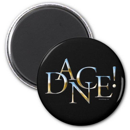 Dance! (Chrome) Magnet