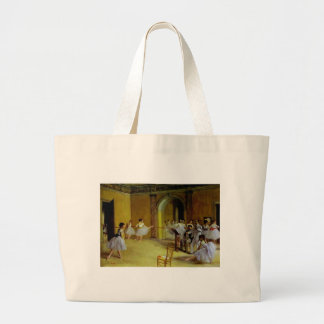 Dance Class at the Opera by Degas Jumbo Tote Bag