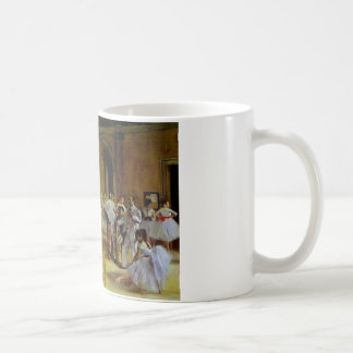 Dance Class at the Opera by Degas Coffee Mug