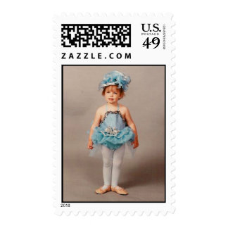 Dance Class Ballerina Postage