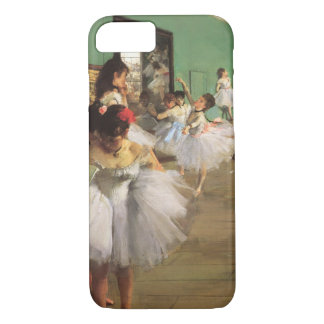 Dance Class by Degas, Vintage Impressionism Ballet iPhone 8/7 Case