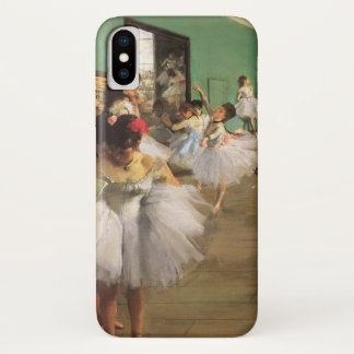 Dance Class by Degas, Vintage Impressionism Ballet iPhone X Case