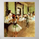 Dance Class Framed Print