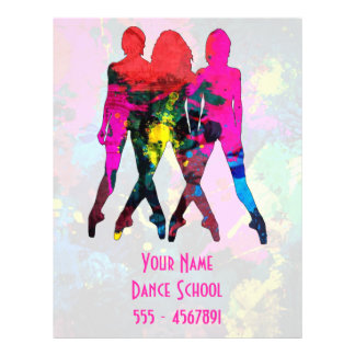 Dance Class Flyers & Programs | Zazzle