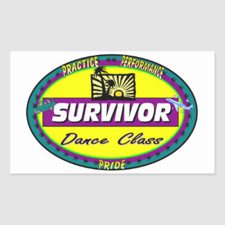 DANCE CLASS STICKERS PARTY FAVORS