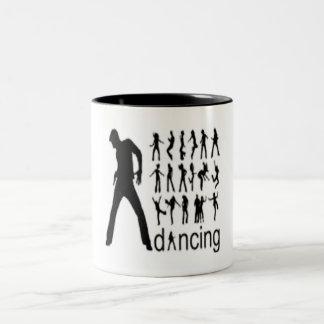 Dance collection Men Two-Tone Coffee Mug