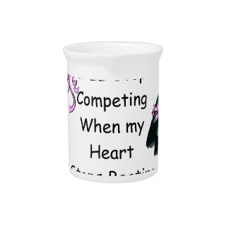 Dance Competition Drink Pitcher