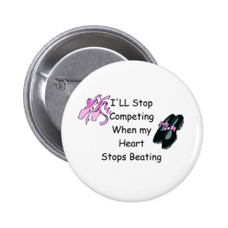 Dance Competition Pinback Button