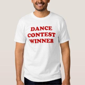 Dance contest winner tee shirt