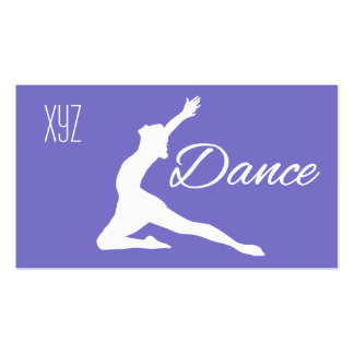DANCE custom color business cards