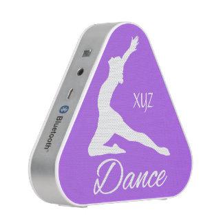 DANCE custom monogram & color bluetooth speaker