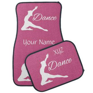 DANCE custom monogram & color car floor mats