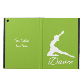 DANCE custom monogram & color cases iPad Air Covers