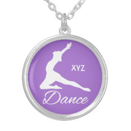DANCE custom monogram & color necklace