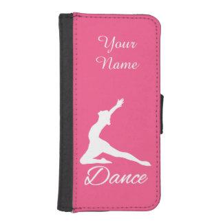 DANCE custom monogram & color phone wallet