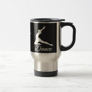 DANCE custom monogram mugs