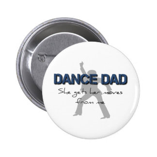 Dance Dad Moves Pin