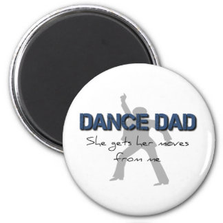 Dance Dad Moves Refrigerator Magnet