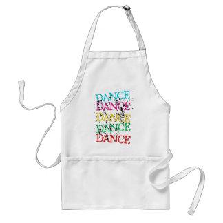 Dance Dance Colourful Stylish Grudge Adult Apron