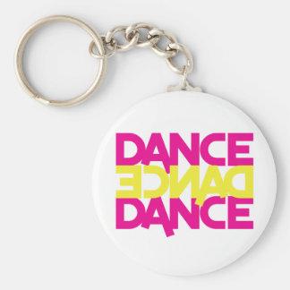 dance dance dance keychain