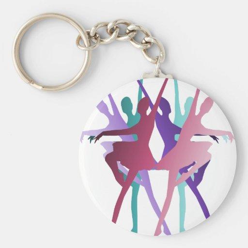 Dance Dance Dance Keychains