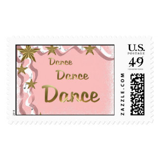 Dance Dance Dance Postage Stamp