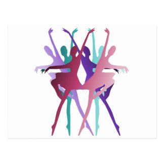 Dance Dance Dance Postcard