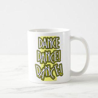 Dance Dance DANCE! two-tone mug